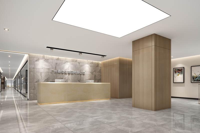 4000平创新产业园写字楼装修设计