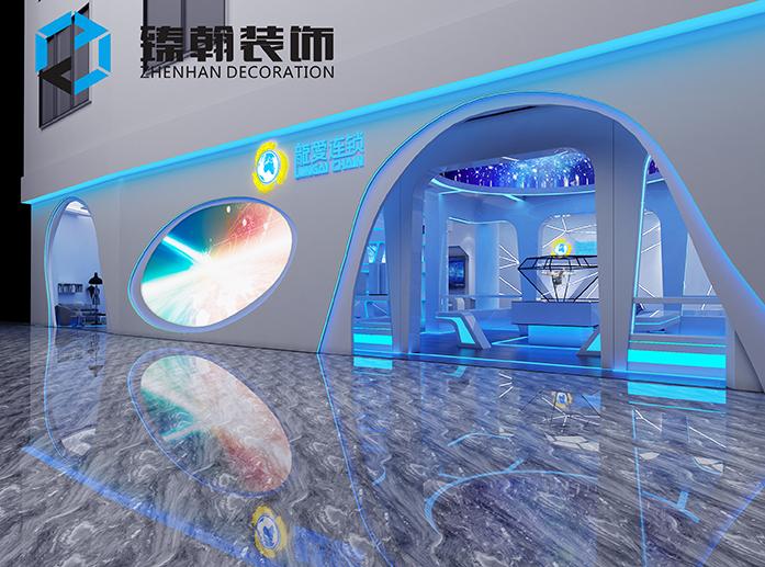 展厅装修设计的一些技巧以及色彩搭配