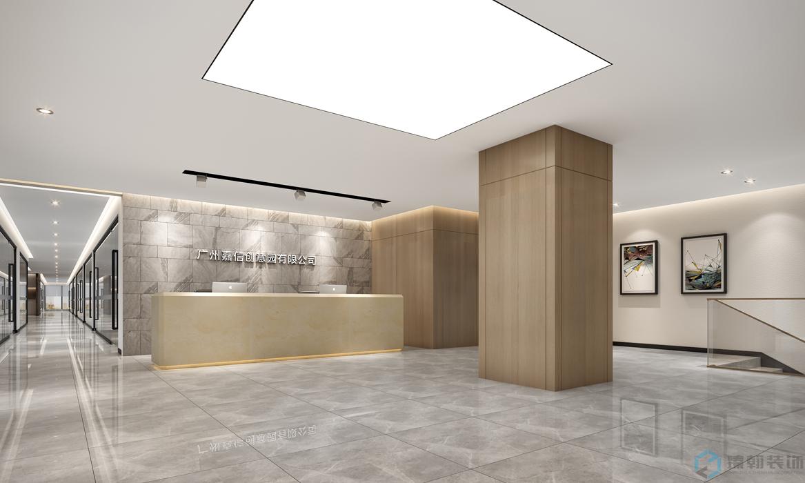 臻翰装饰 | 4000平米创新产业园写字楼设计,享有独特的健身房