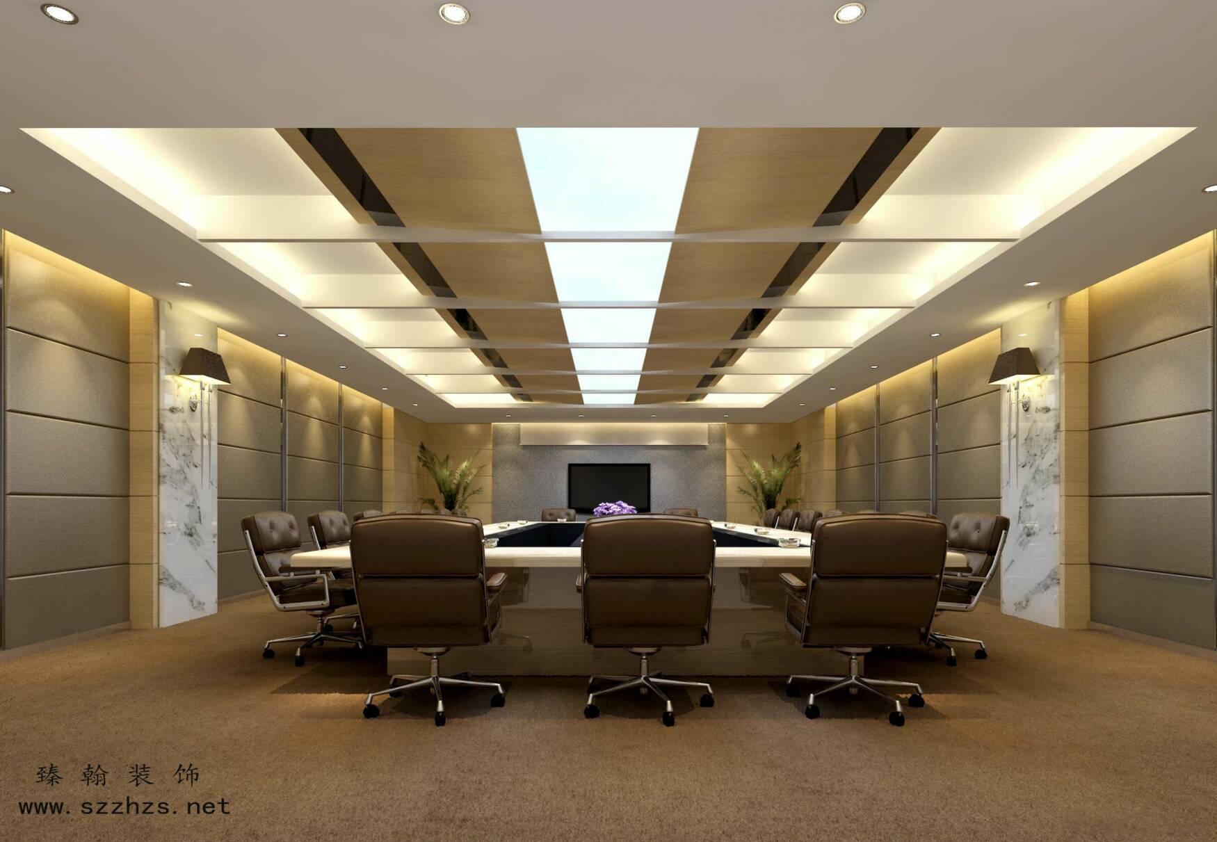 办公室设计中灯具的选用原则