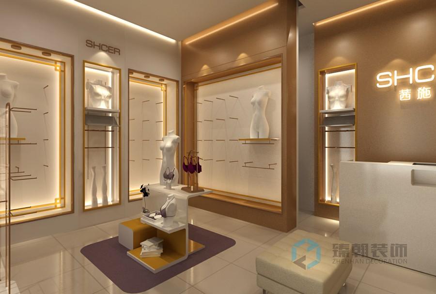 西施尔内衣店装修设计案例
