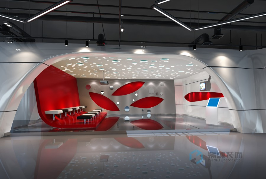 工业化材料展厅装修案例