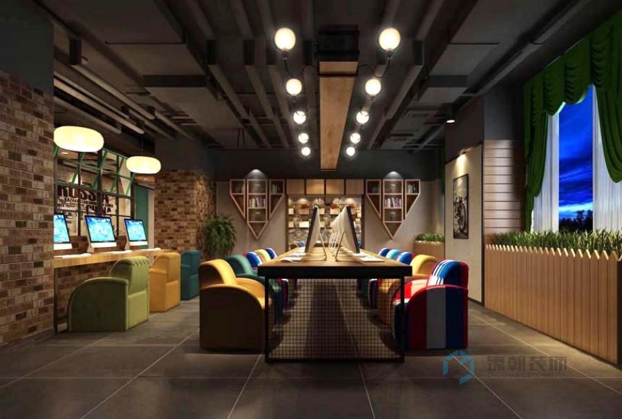 Amicdl网咖装修,网吧装修设计案例