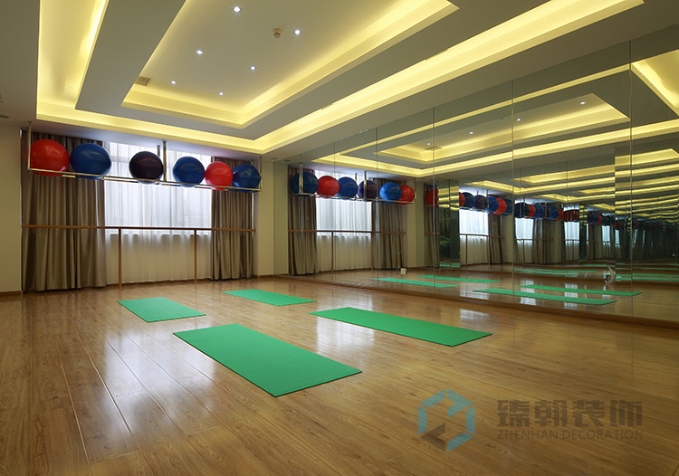 深圳舞蹈室装修