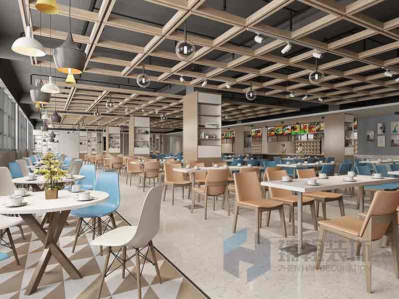 1200平富士康集团食堂设计