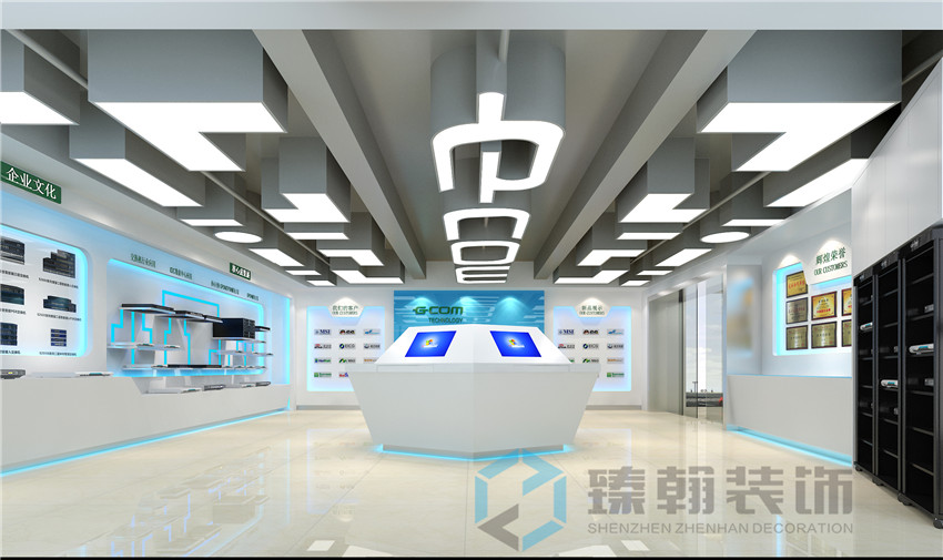 深圳展厅装修设计案例