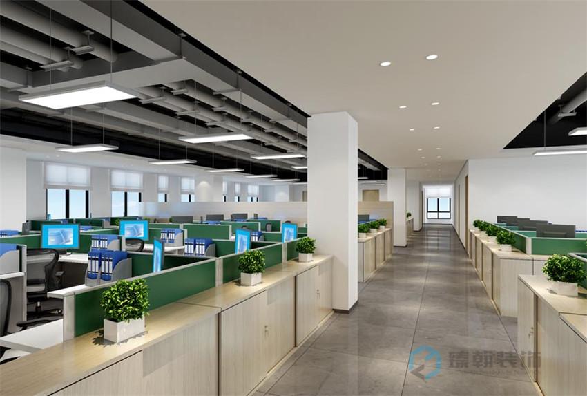 华侨城办公室装修案例