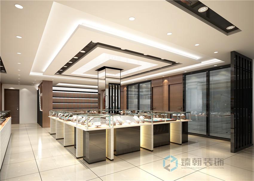 深圳珠宝店装修
