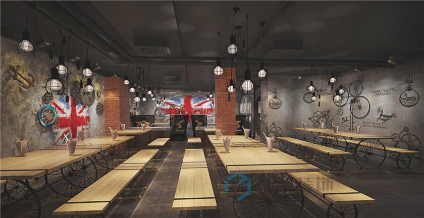 独家记忆主题餐厅装修设计案例