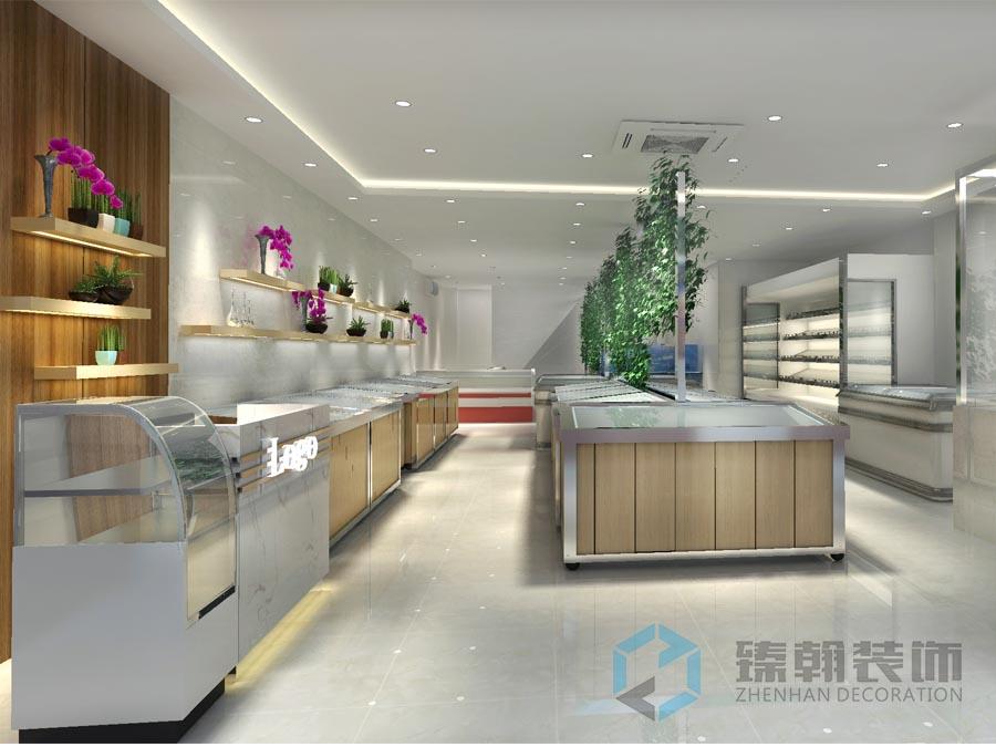 深圳店铺装修,深圳超市装修,生鲜超市装修